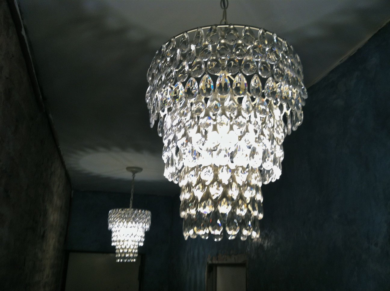Pb teen chandelier loisaida nest pb teen teardrop chandeliers aloadofball Gallery
