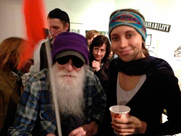 Founder Laurie Mittelmann with Adam Purple