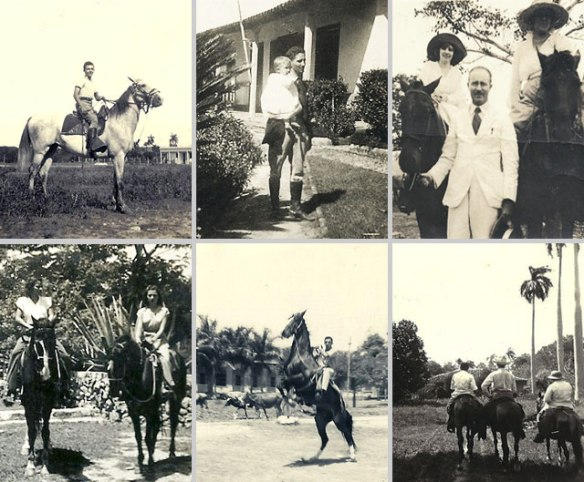 Top from left: Camelia's grandfather; great grandfather and grandfather; great grand mother. Bottom from left: Camelia's grandmother; grandfather; grandfather with great uncles. Cuba
