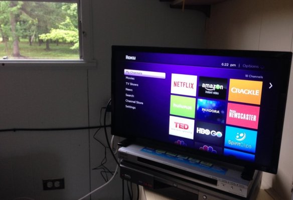 internet tv via roku