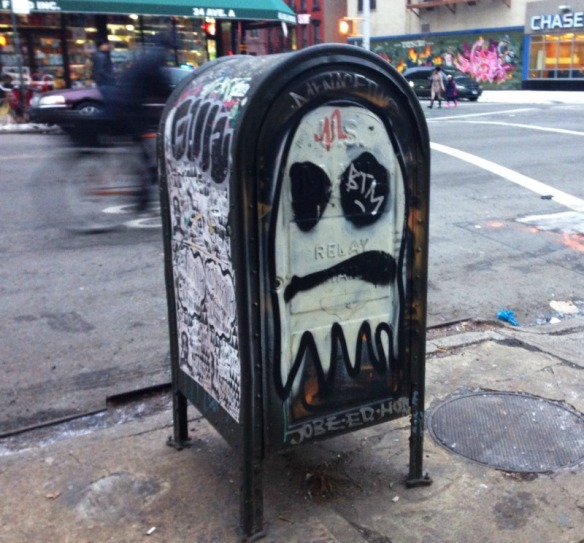 mailbox art by an artist Cool