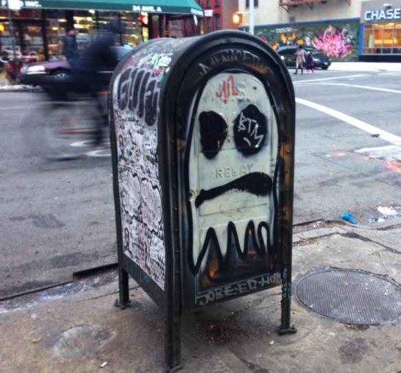 mailbox art by an artist Cool