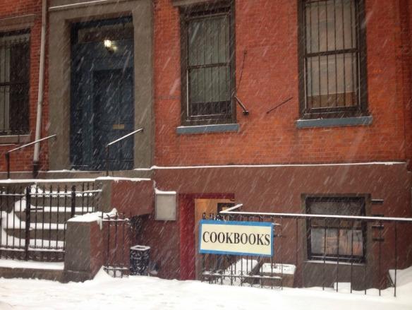 Bonnie Slotnick Cookbooks on East 2nd Street