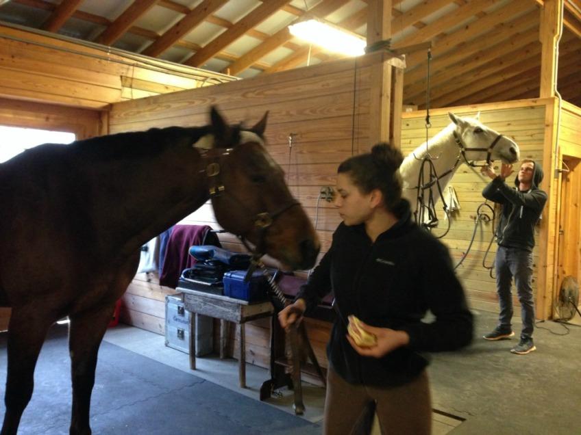 Camelia Montalvo at La Luna Farm