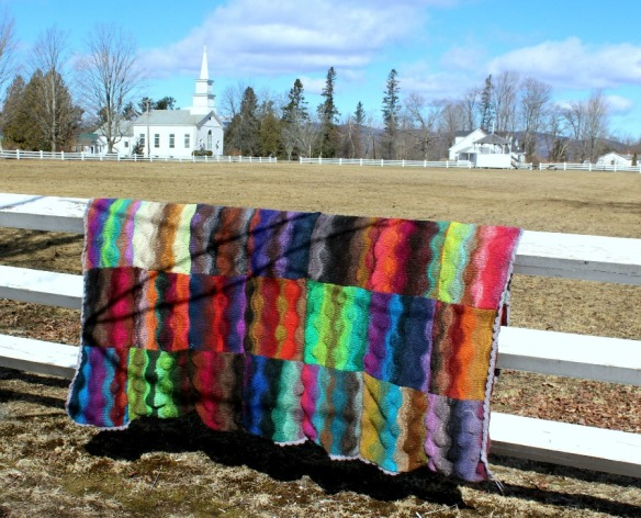 lizard ridge afghan